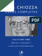 Luis Chiozza - Obras Completas Tomo10 - Afectos y Afecciones 1