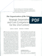 La Organizacion Del Futuro - David Nadler