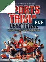 Sports Trivia Devotional, Excerpt