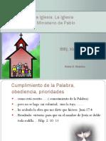 La Misión de la Iglesia, tema 4