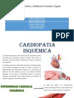 Cardiopatía Isquémica y Síndrome Coronario Agudo