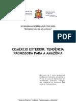 COMÉRCIO EXTERIOR NA AMAZÔNIA