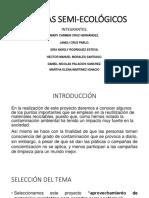 PARADAS DE AUTOBÚS SEMI-ECOLÓGICOS