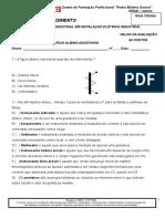 atividade metrologia industrial