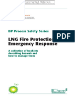 LNG Fire Protection and Emergency Respons