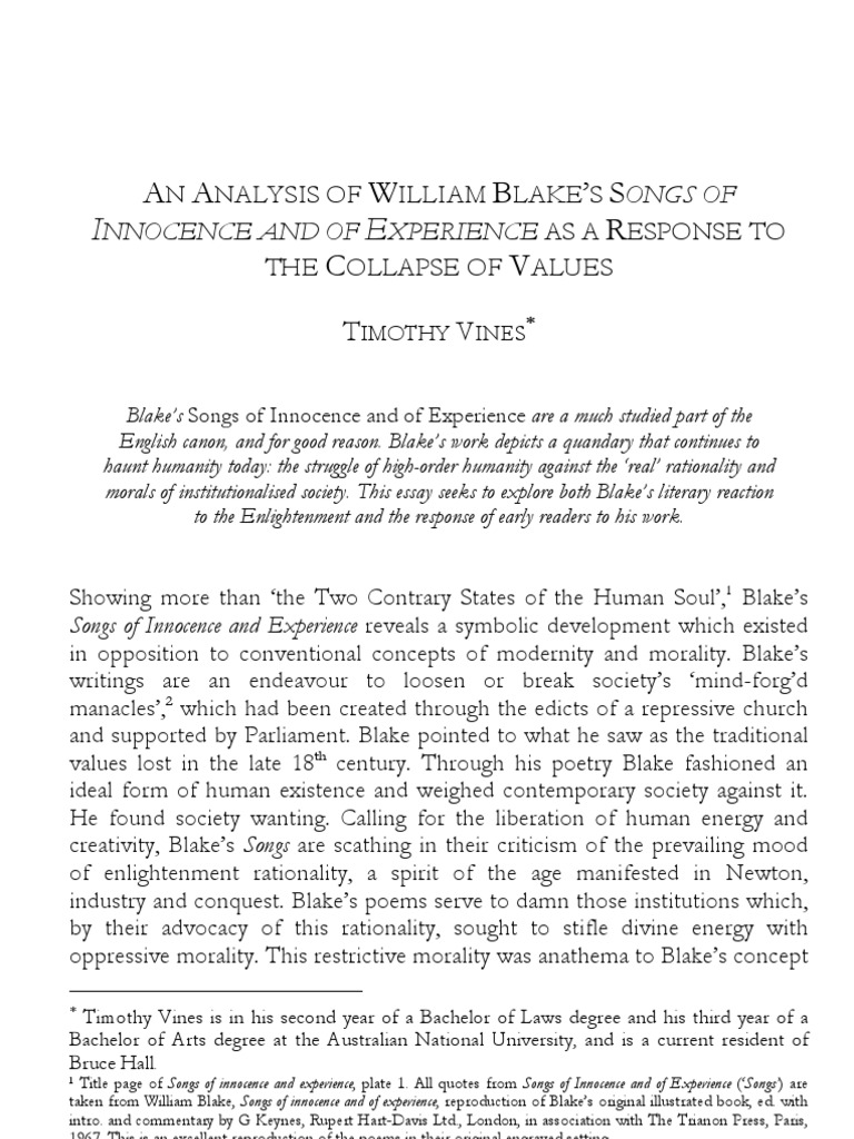 william blake essay introduction  william blake essay introduction