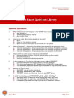 SKIEF Referee Question Library FOR TRANSLATION
