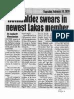 Peoples Journal, Feb. 20, 2020, Romualdez swears in newest Lakas member.pdf