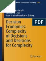 Bucciarelli H. Decision Economics. Complexity of Decisions 2020.pdf
