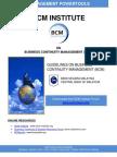 Bank Negara Malaysia BCM Guidelines 2008
