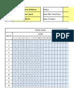 Item-Analysis - ANTHURIUM