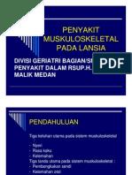 Fmd175 Slide Penyakit Muskuloskeletal Pada Lansia