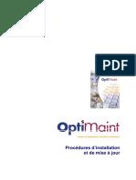 GMAO OptiMaint - Procédures installation et mise à jour