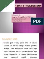 ppt biokim SEJARAH DNA