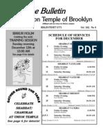 UT Bulletin December 2010
