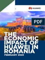 The Economic Impact of Huawei in Romania
