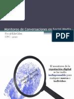 Monitoreo de Conversaciones en Social Media