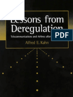 Lessons From Deregulation - Telecommunications and Airlines After the Crunch