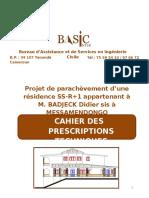 Cahier des Prescriptions Techniques01