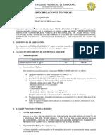 3. ESPECIFICACIONES TECNICAS PIEDRA CHANCADA