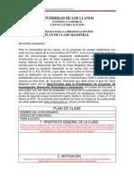 fORMATO  Plan de Clase 02-P-2014