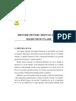 Metode pentru dezvoltarea masei musculare