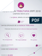 Presentación de la CEE ingresos IRPF