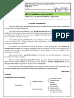 ESTUDO DIRIGIDO REVISÃO DA FQ I