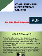 TERAPI KOMPLEMENTER DALAM PALIATIF  2019.ppt