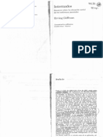 Erving Goffman - Internados, instituciones totales