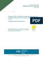 UNE-EN 62612 2014 A2 2019