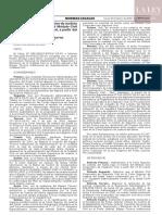 Resolución Administrativa N° 063-2020-CE-PJ