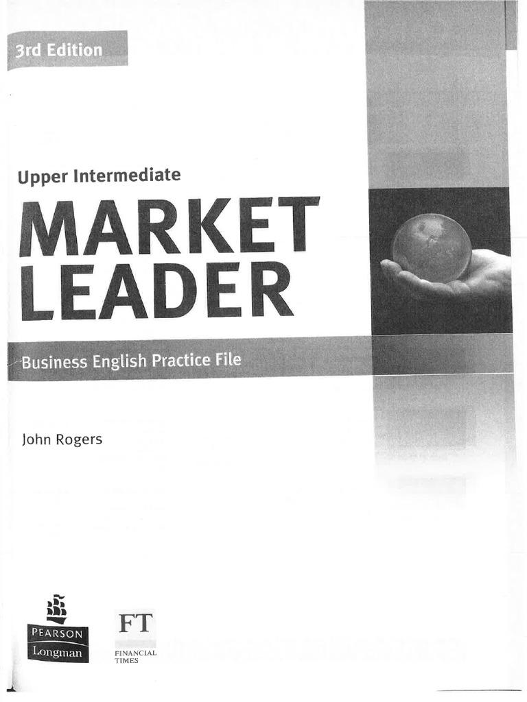 Market Leader Upper Intermediate 3rd Edition Practice Book Pdf