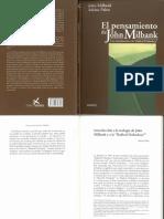 Pabst. Introduc. a la teología de Milbank y a la Radical Ortodoxy