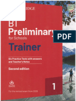 B1 Preliminary for Schools Trainer 1 for the Revised 2020 Exam