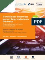 Condiciones sistémicas para el emprendimiento dinámico