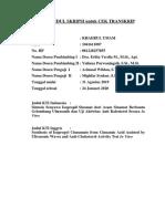 FORMAT JUDUL SKRIPSI untuk CEK TRANSKRIP Khaerul Umam.docx