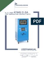 LINETRONIC LTVB-474452-SA low temp visco bath