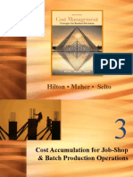 Cost Accumulation for Job and Batch Production Chap003-3