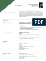 Curriculum modelo espanhol
