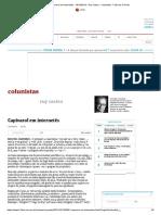 Capivarol em internetês - 18_10_2014 - Ruy Castro - Colunistas - Folha de S.Paulo
