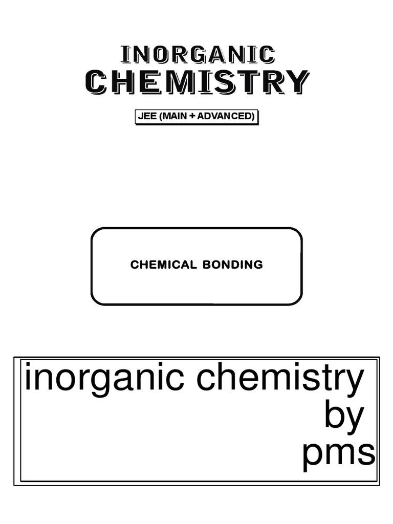 Chemicalbondingbypms Pdf
