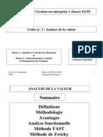 2. Analyse de La Valeur