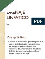 Drenaje Linfatico Clase 6