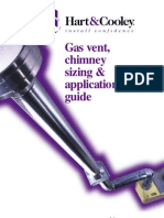 Gas Vent Chimney Sizing Application Guide