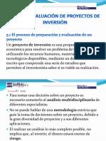 TEMA 5 Evaluación de proyectos de inversión