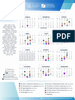 Calendário Fórum de Desenvolvimento do Rio 2020