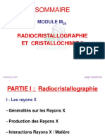 Cours Radiocristallographie et Cristallochimie II smc s5