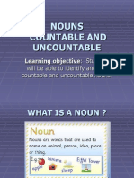 Countable and Uncountable Nouns Presentation