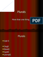 Plurals and Posters